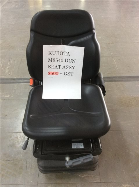 Kubota Suspension seat