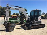 Bobcat E60 Zero Tail Swing